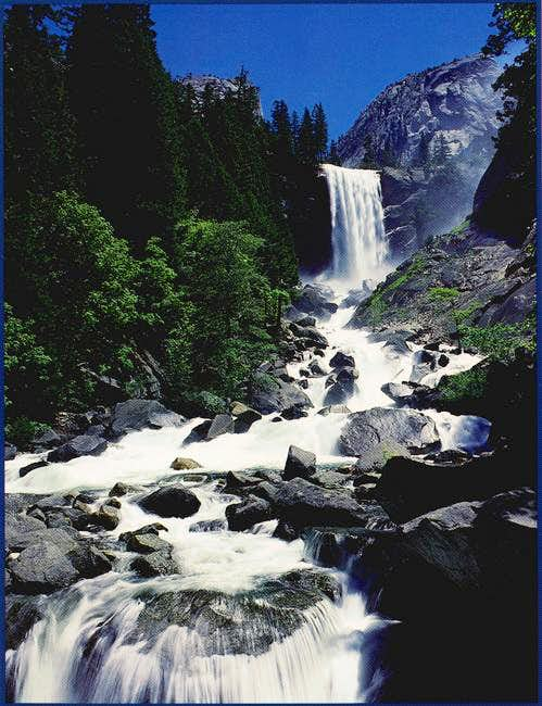 Vernal Falls from Lady...