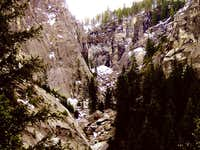 The Illilouette Gorge March...