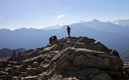 The summit of Rosskopf