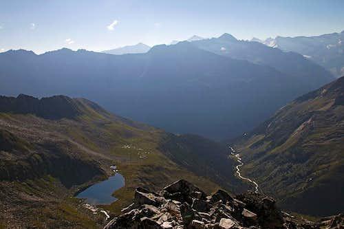 Rainbach valley from Rosskopf