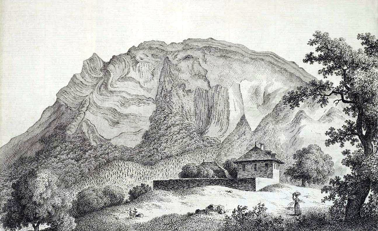 Mountain engravings