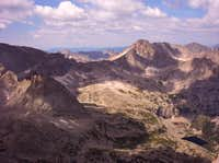 Summit view from Long's Peak....