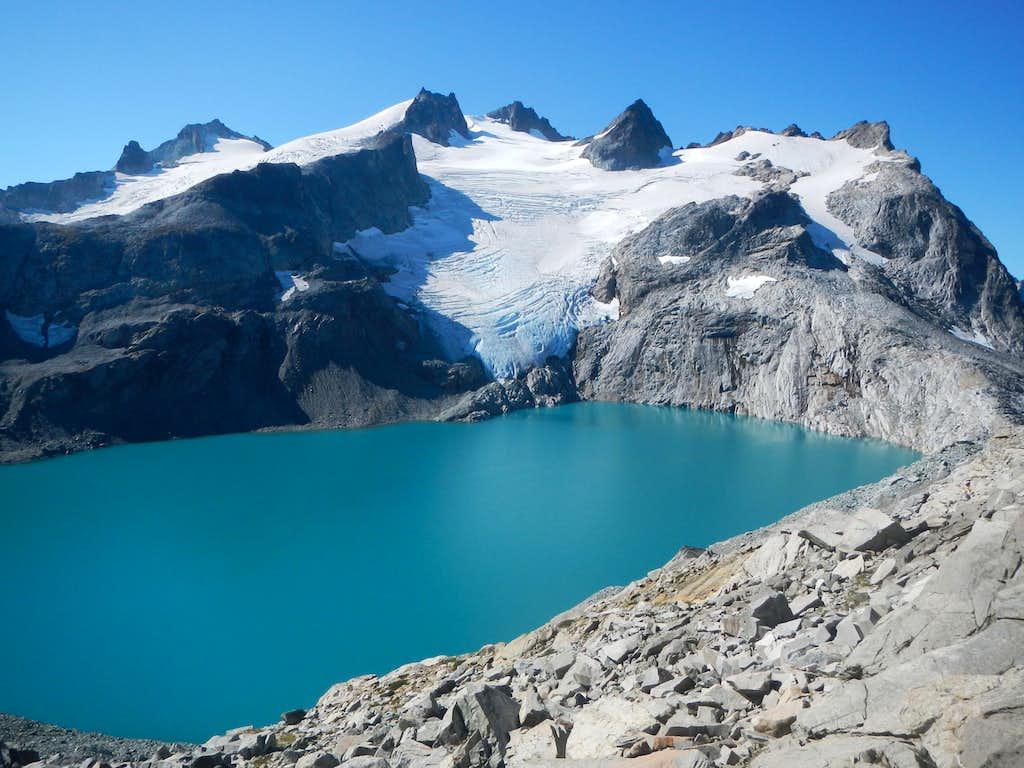 Mount Daniel and Pea Soup Lake