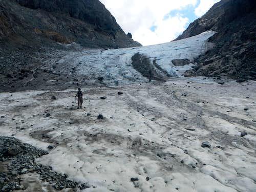 Descending The Glacier