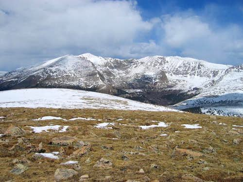 Mount Bierdstadt and Mount...