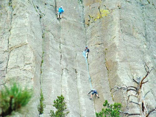 Devils Tower Climbers