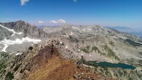 Red Baldy Summit