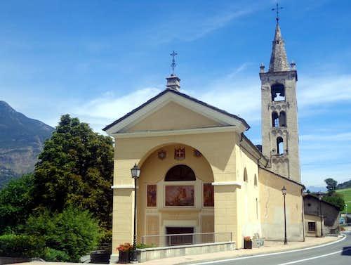 Surroundings / B Pollein San Giorgio main Church 2015