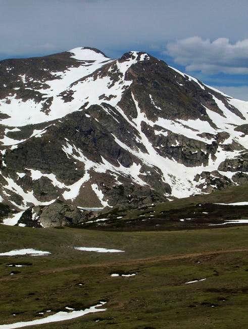 Bancroft with Parry Peak...