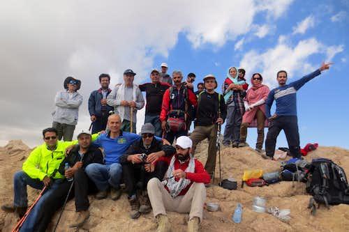 صعود به قله نامی بینالود6-6-94