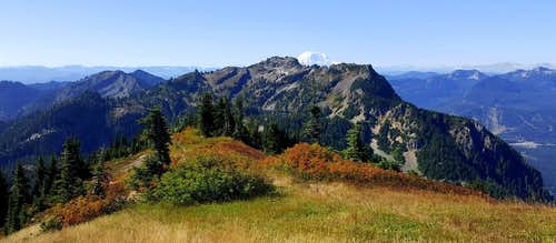 Rampart Ridge from Alta