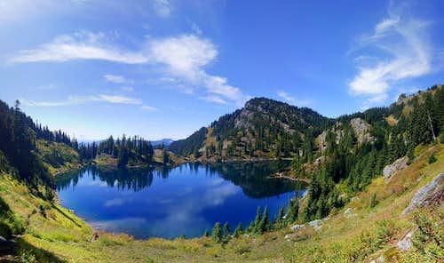 Dungeon Peak and Lake Lillian