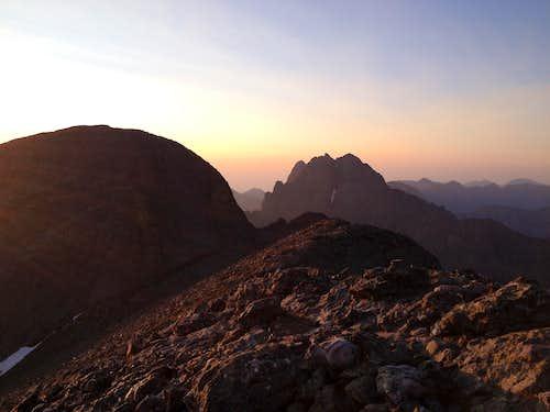 Challenger Point Sunrise