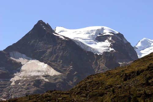 Piz Cambrena N side