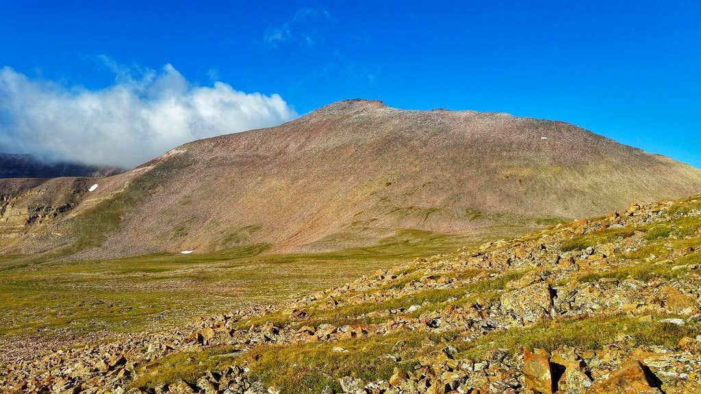 Kings Peak from Painter Basin