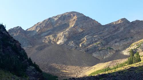 Sunrise Peak from Broads Fork