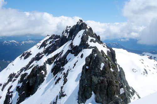 Mt Rosseau, Strathcona Park, Vancouver Island Alps
