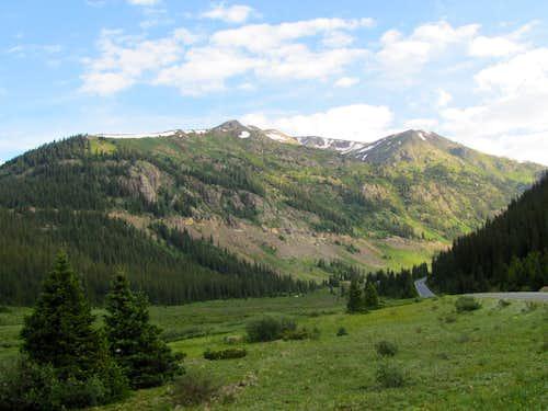 Peak 13500 ft