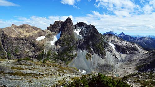 Rambler Peak, West Buttress