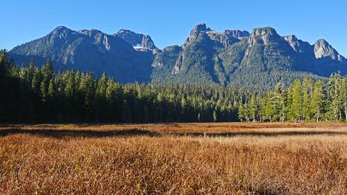 Mt Schoen, Vancouver Island