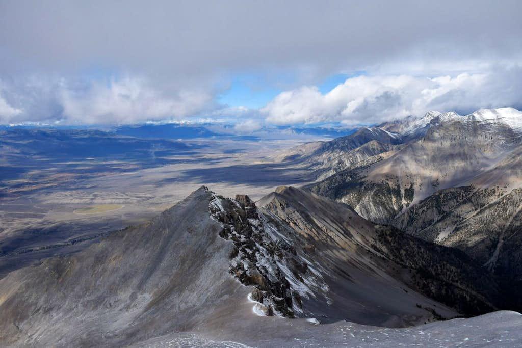 Mt. McCaleb summit view