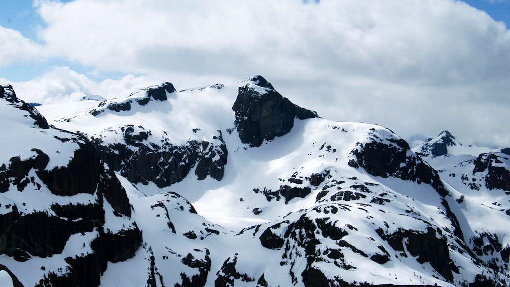 Mt Celeste, Rees Ridge Strathcona Park, Vancouver Island