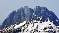 Mt Colonel Foster, West Face