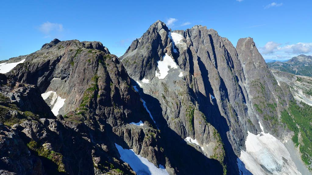Mt Colonel Foster east face