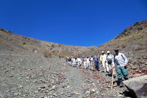در مسیر صعود به قله چمن 13-6-94