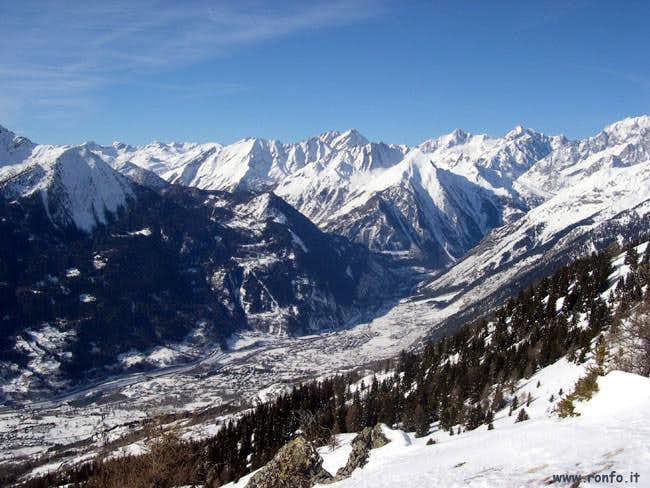 One-week trip around Castles Churches and Shrines: High North Valley (Valdigne) / D-1