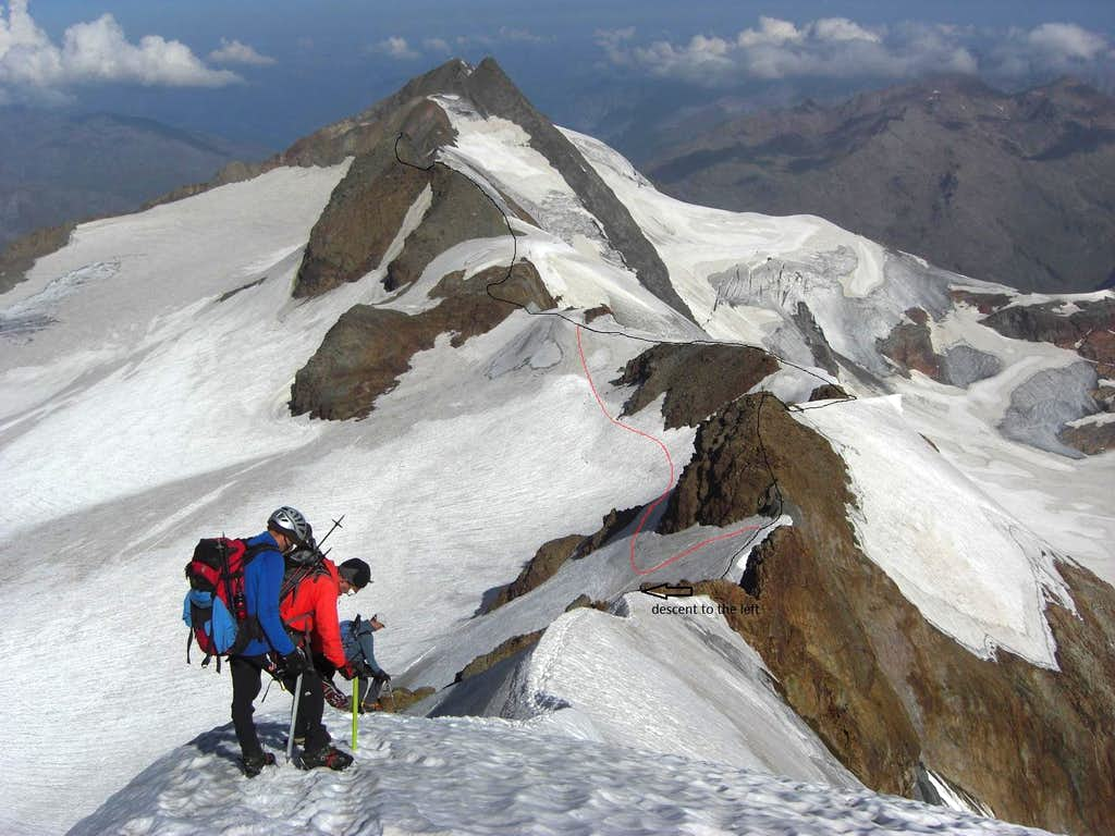 Traverse of  the 13 Peaks