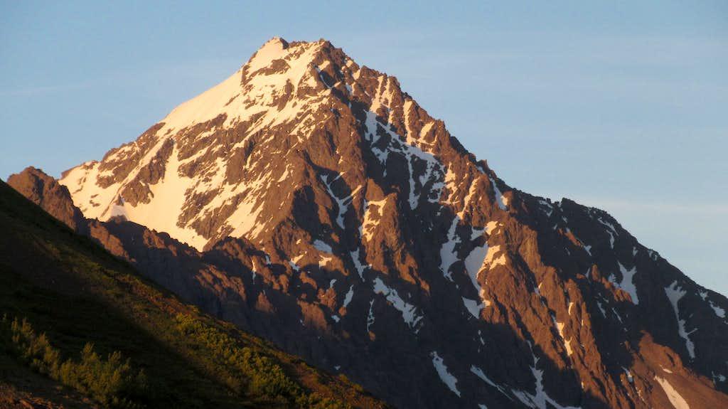 Sunset on Eagle Peak