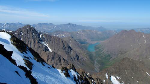Eagle Lake from Eagle Peak