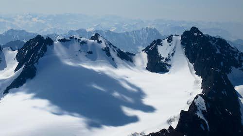 Flute Peak from Eagle Peak