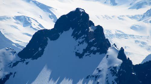 Polar Bear Peak from Eagle Peak