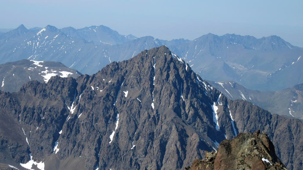 Cantata Peak from Eagle Peak