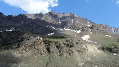 Eagle Peak from the valley