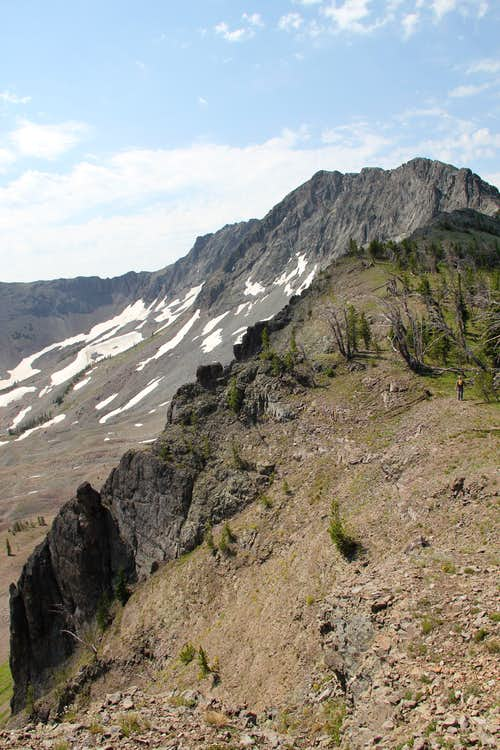 Yellowstone's Hoyt and Avalanche Peaks