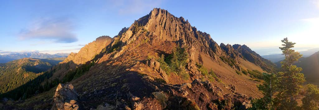 Mount Angeles East Face