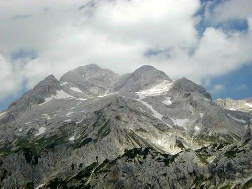 Southern view on Triglav from...