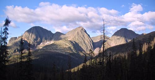 View from Vallecito Trail