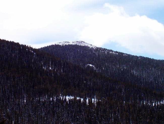 Chief Mountain's summit...