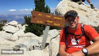 Cris Hazzard on San Jacinto peak