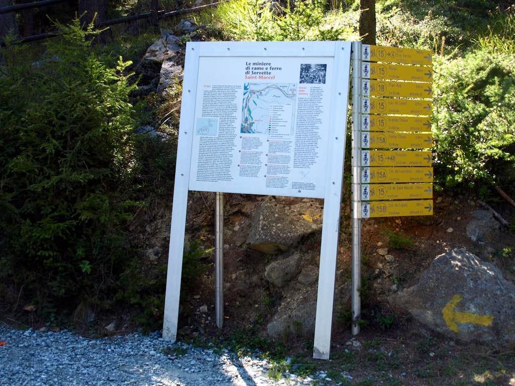 Servette-Chuc Mines At the Northeastern entrance 2015