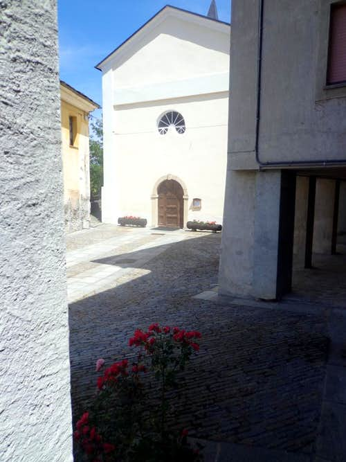 Low South Valley / C 2 - Brissogne-Primaz Church 2015