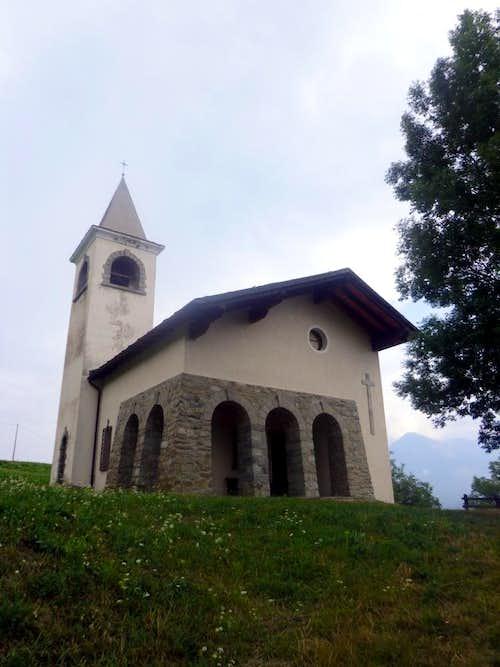 Low North Valley / C 1- Avisod 1945 little Church 2015