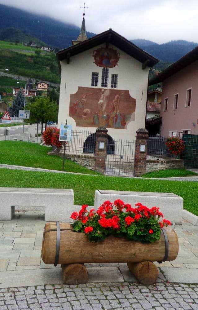 Aosta & Surroundings / B Pont Suaz little Church 2015