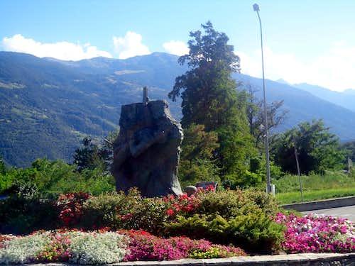 Monumenta & Sculptures Alpine / 2 JEU DU TZAN 2015