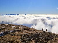 Over the clouds (The fellowship of the Ring!) :D