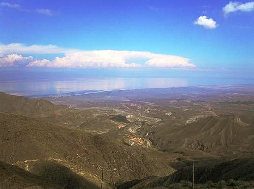 View towards Salton City and...